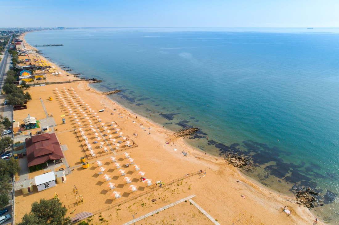 Золотой пляж Феодосии