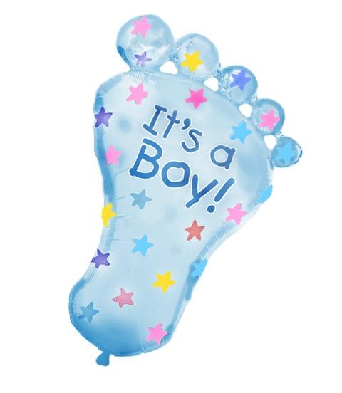 ножка на выписку мальчика