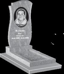 Фигурный мраморный памятник