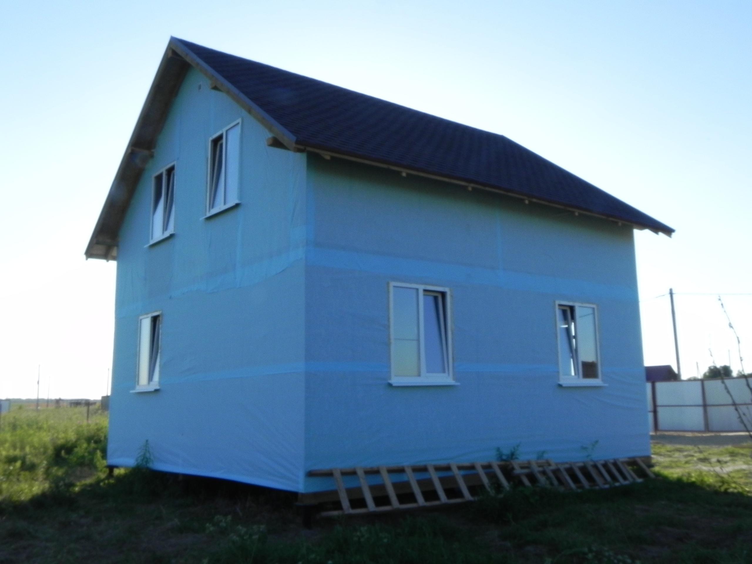 фото дома из сип панелей №2 ропша