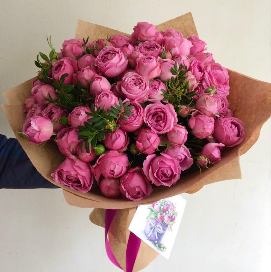 19 роз Мисти Баблс