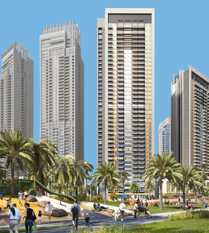 Creek Horizon in Dubai Creek Harbour by Emaar, Dubai – Off-Plan Apartments