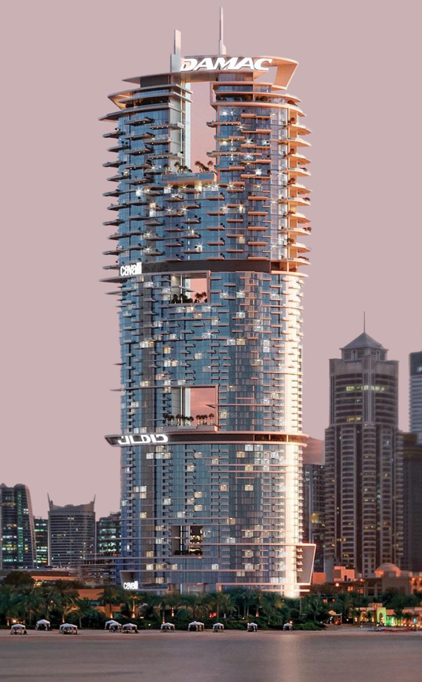 برج كافالي من داماك في دبي مارينا - شقق للبيع
