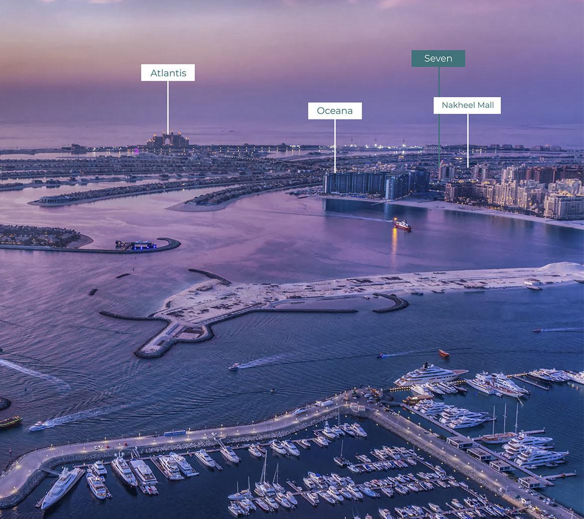 Seven Palm Residences – Апартаменты в Пальм Джумейра, Дубай