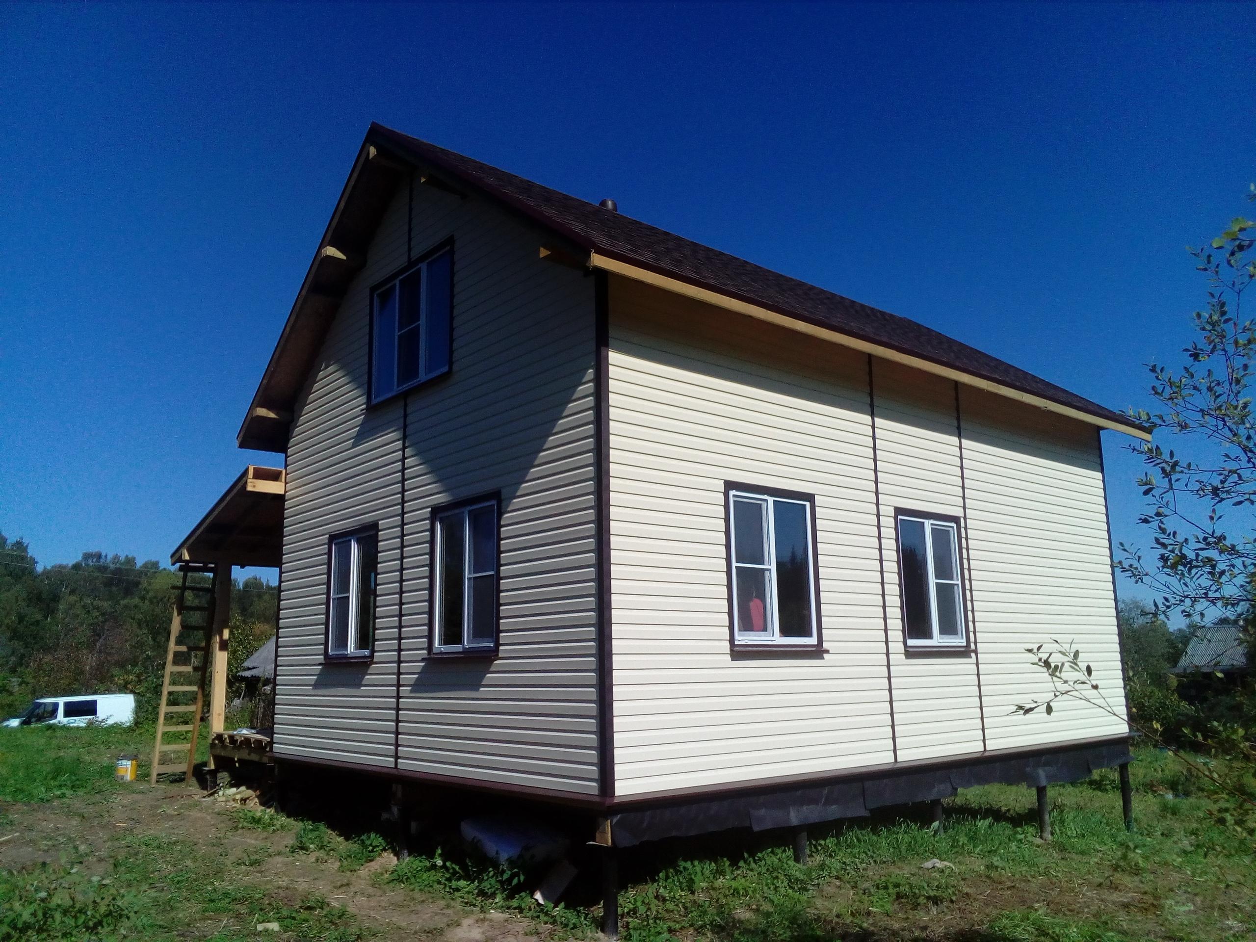фото дома из сип панелей №2 шугозеро