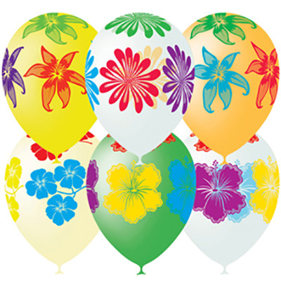 Гелиевые шарики  Цветы