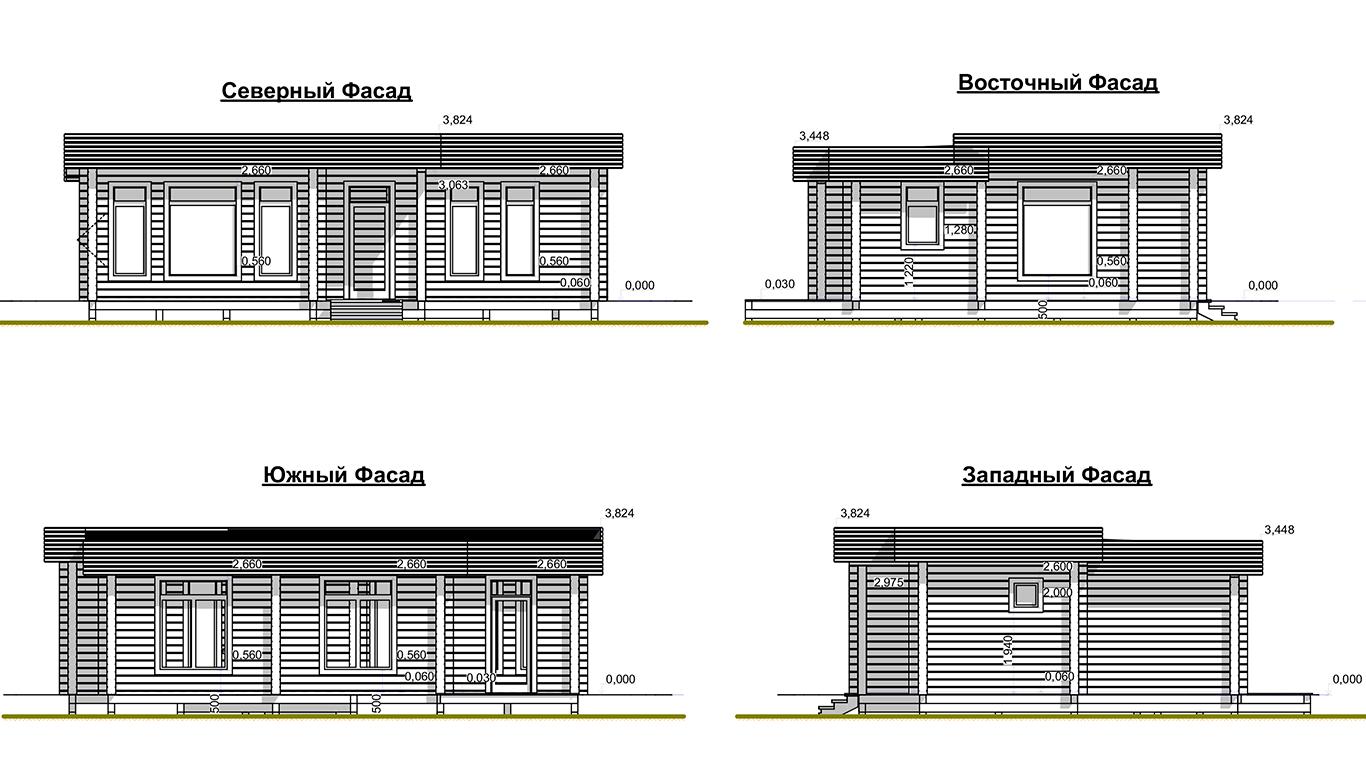 Фасады Plessa 2.0 (Дом Плесса 2.0)