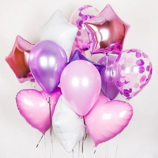 Сет из шаров на 14 февраля №3