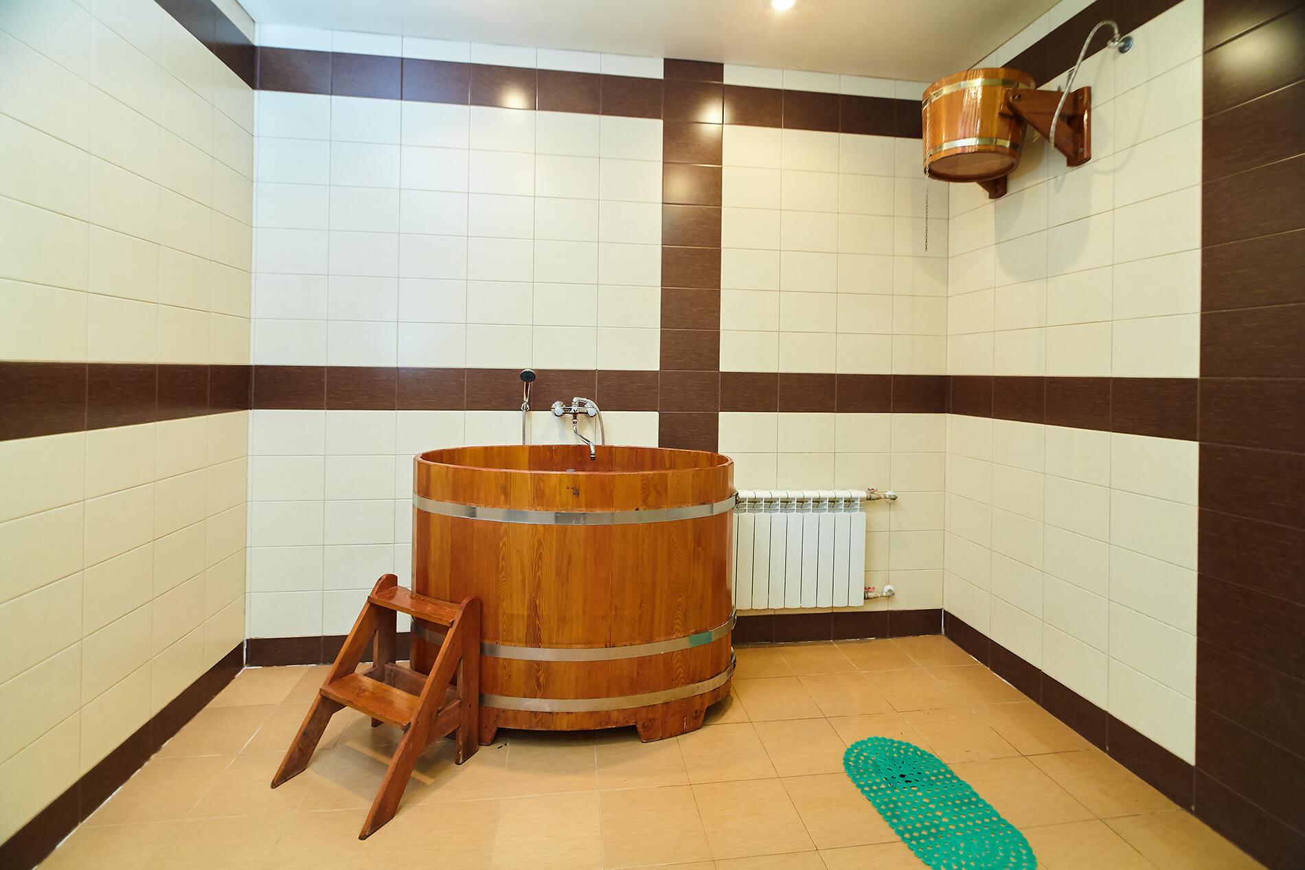 баня с бочкой в Самаре