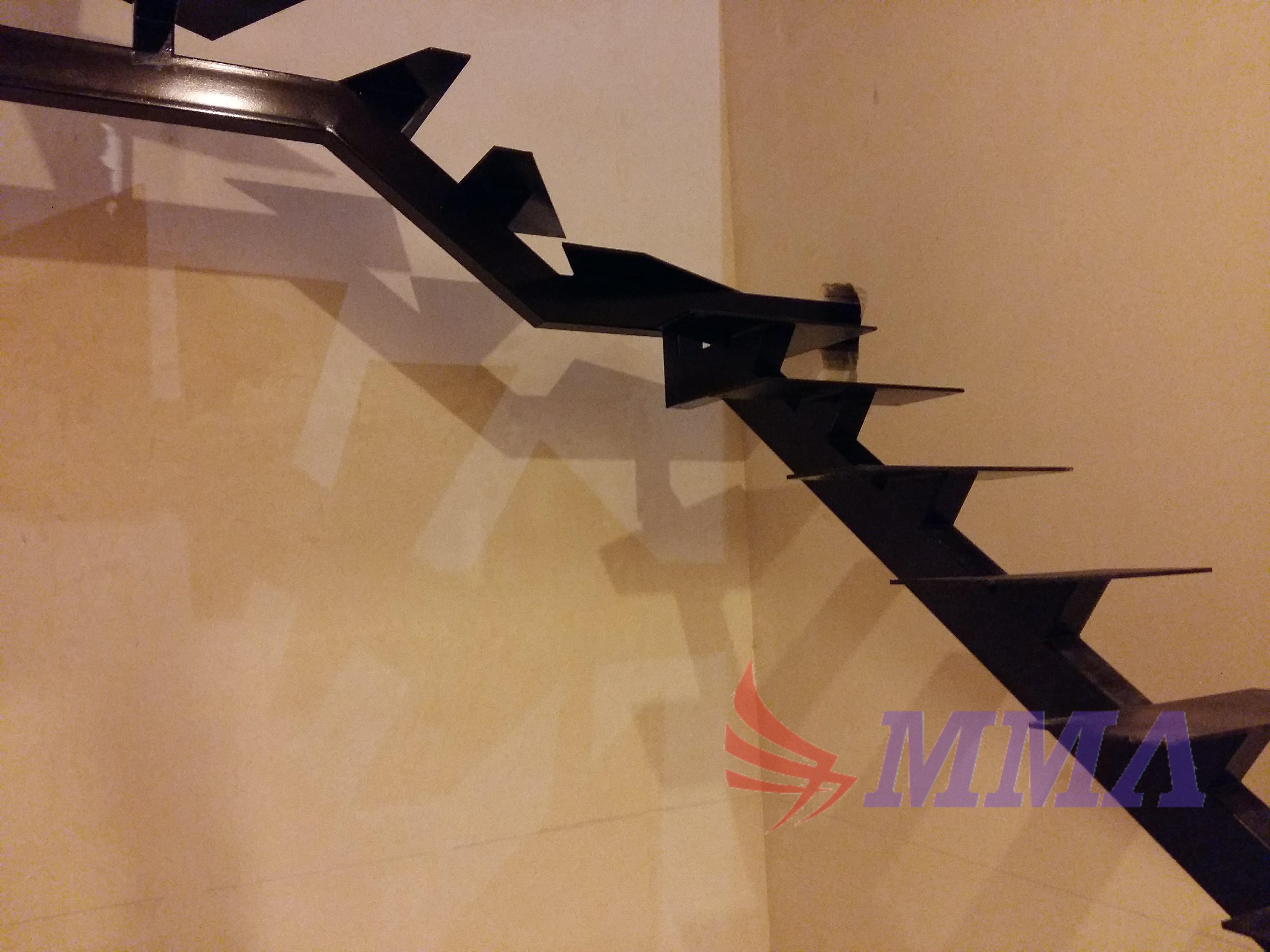 монокосоур лестницы