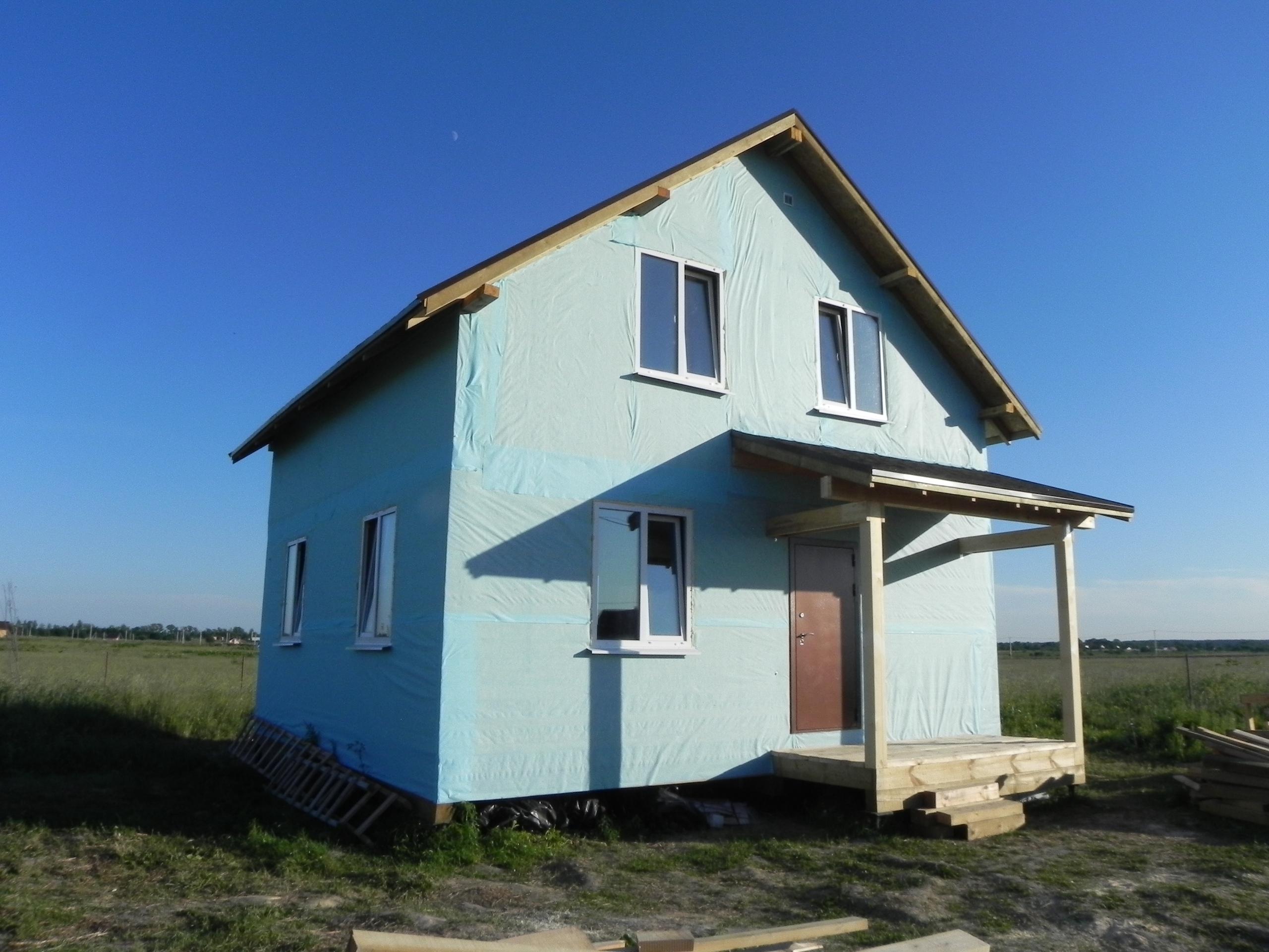 фото дома из сип панелей №4 ропша