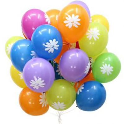 Гелиевые шарики Ромашки