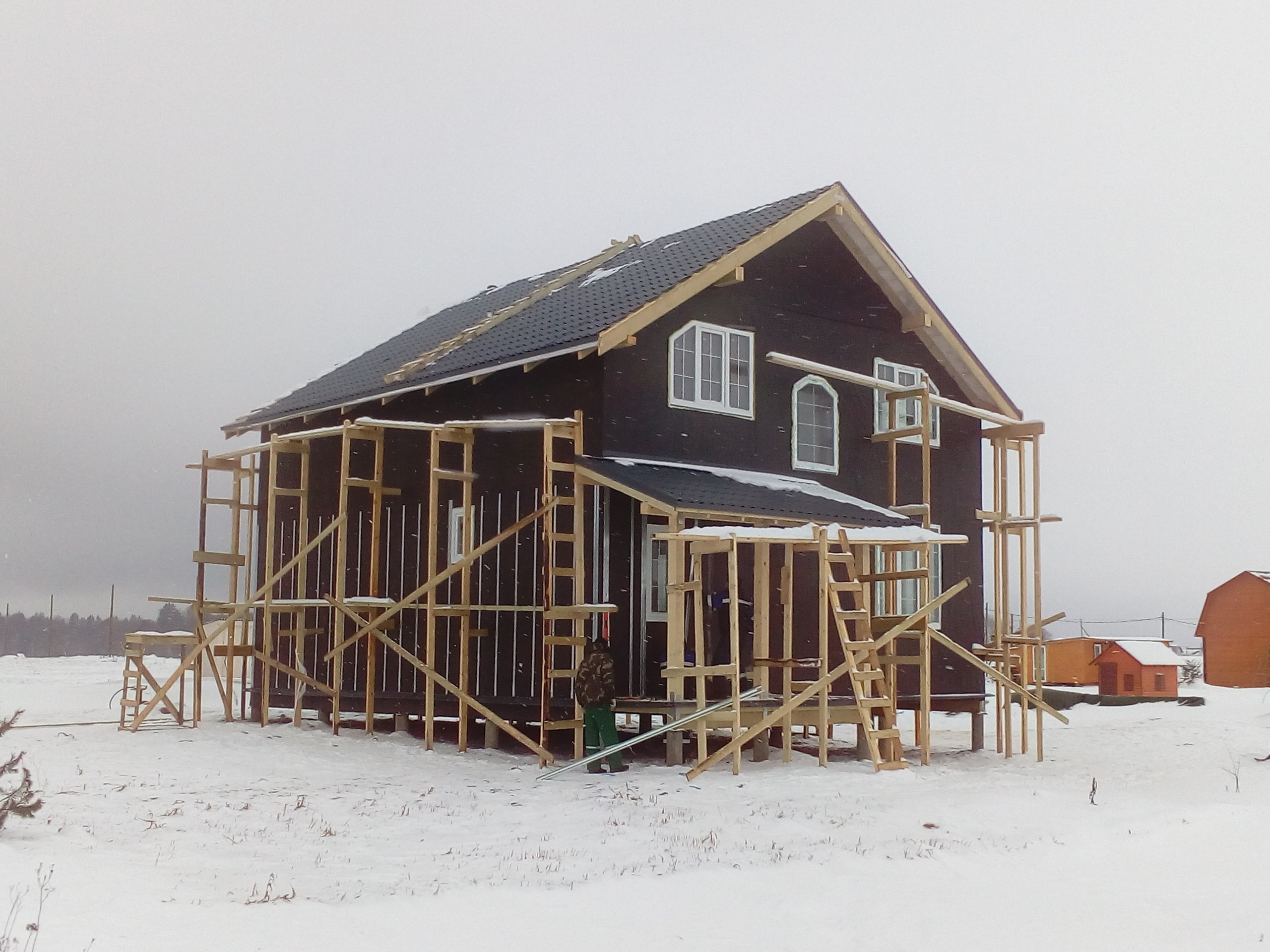 фото дома из сип панелей №9 сокули