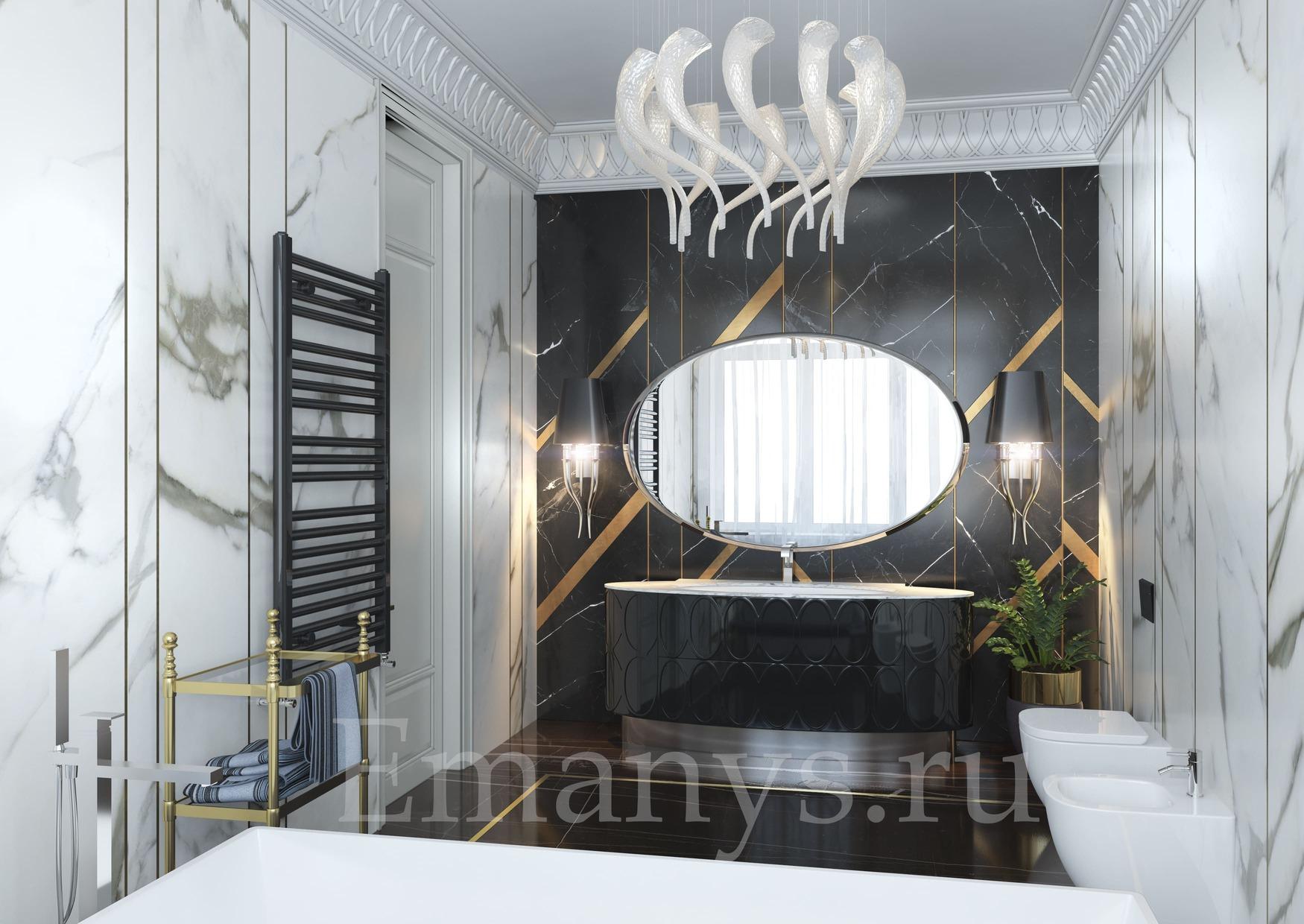 Интерьер ванная