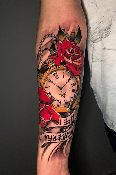 Цветная татуировка в Новосибирске