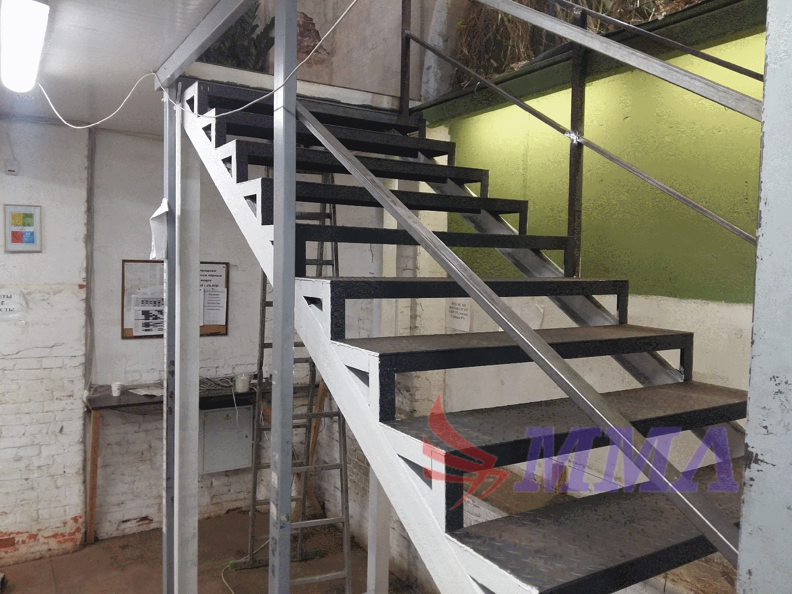 пожарная лестница, металлокаркас, каркас, лестница,