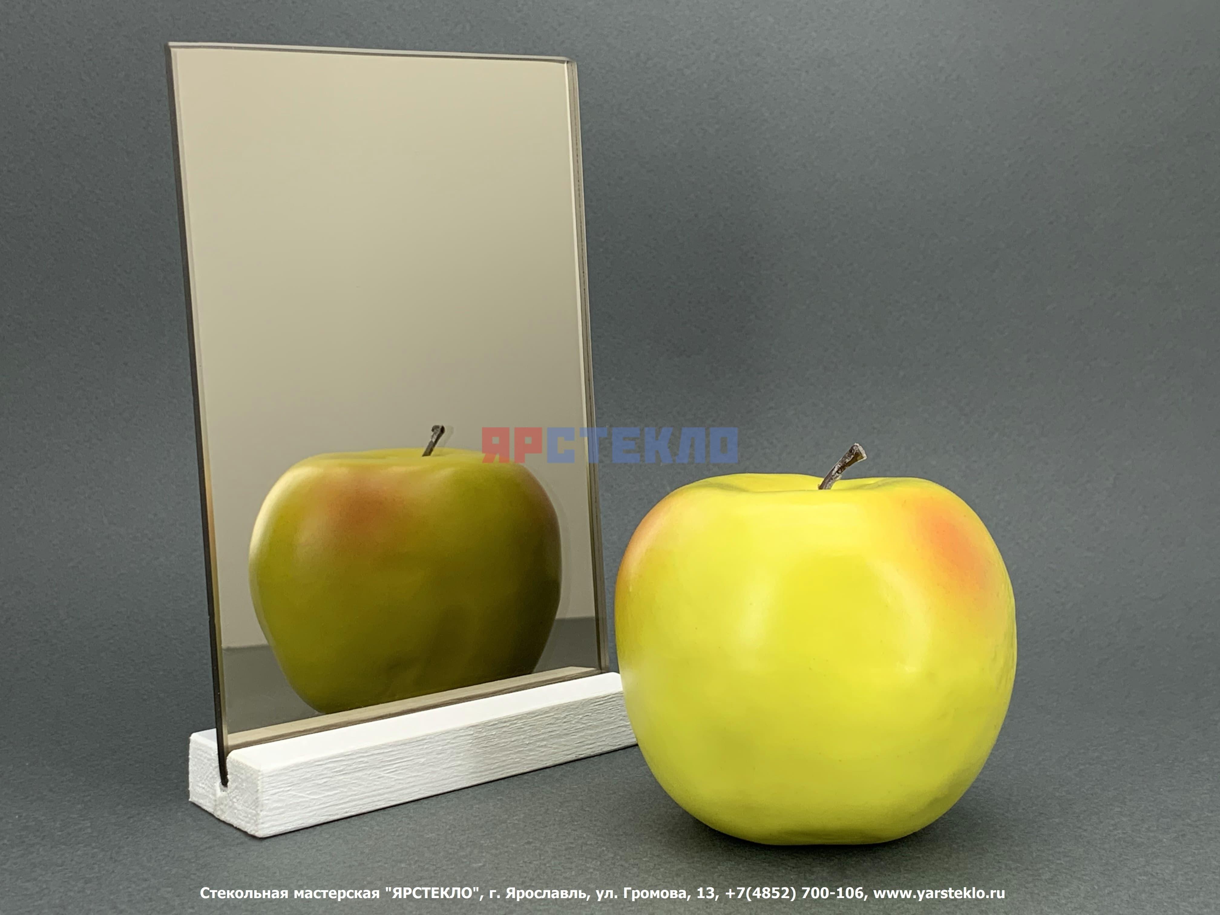 "Зеркало декоративное ""Бронза"", глянец"