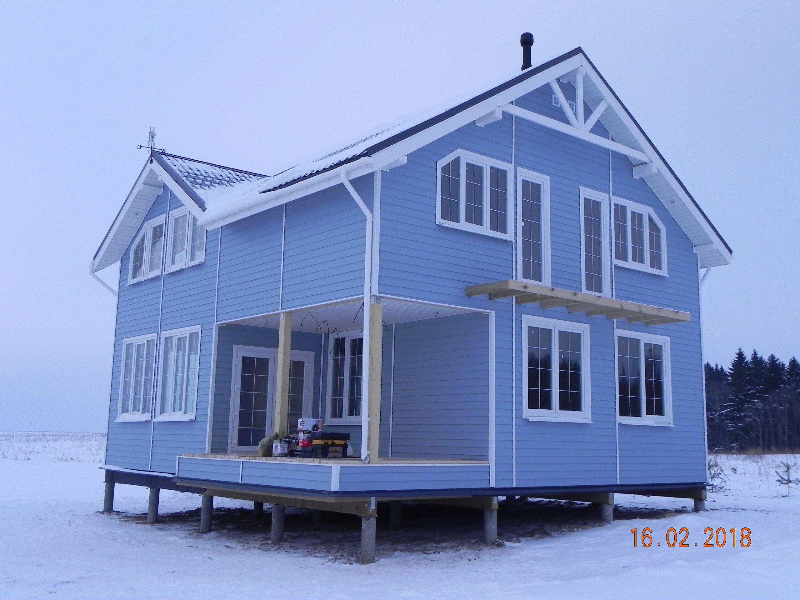 фото дома из сип панелей №2 сокули