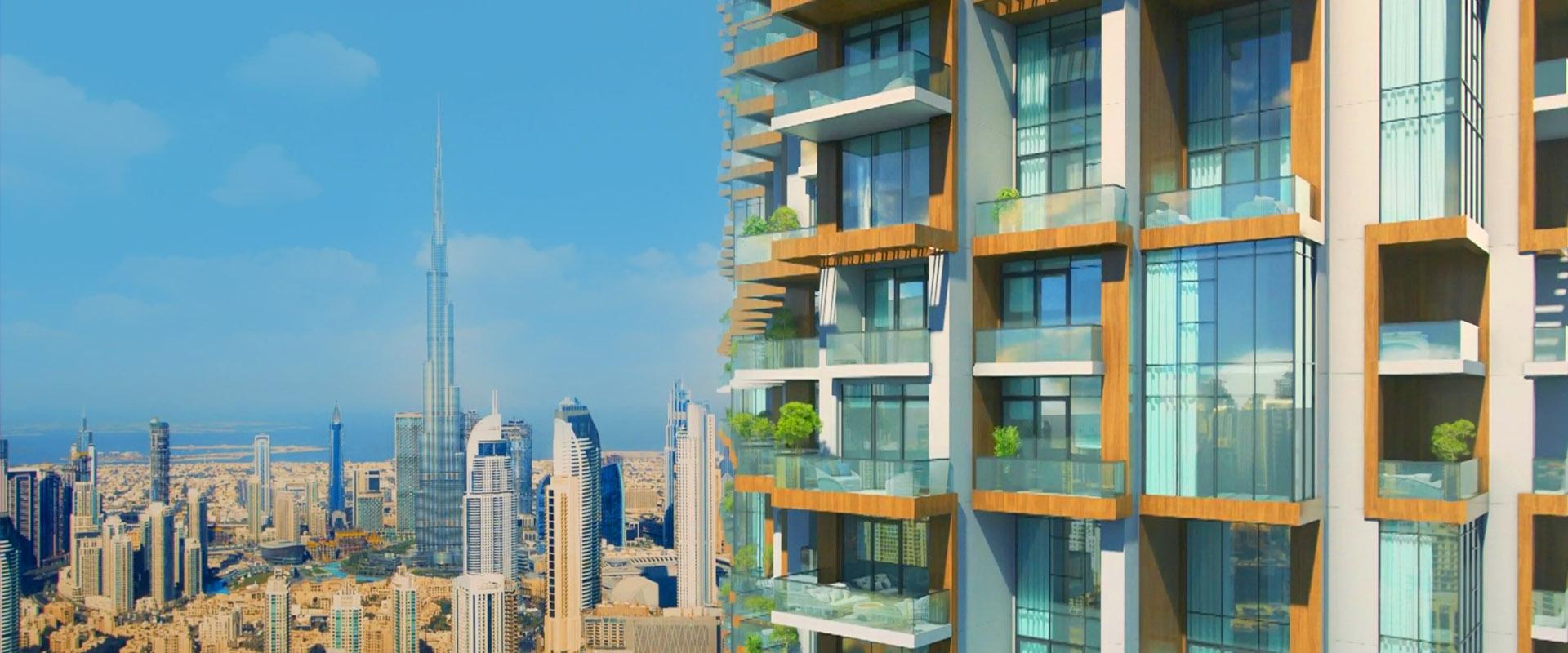 إس إل إس تاور دبي ريزيدنسز في منطقة برج خليفة