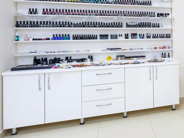 шкаф лаборатория для салона