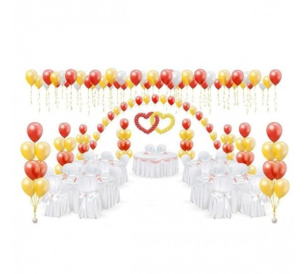 Оформление Свадьбы шарами №6