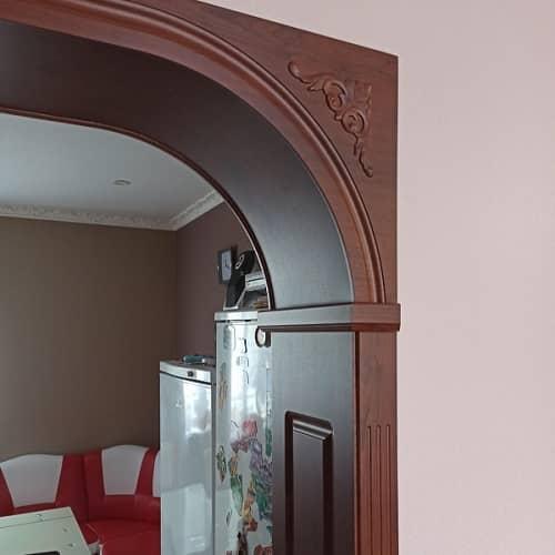 Пример фрезеровки деталей  арки