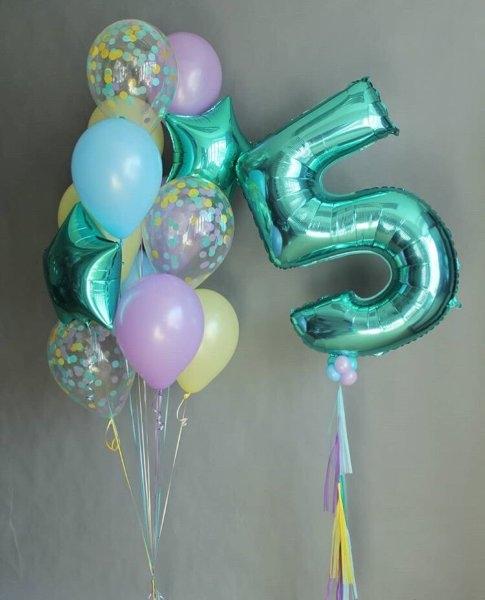 Шары на день рождения 5 лет