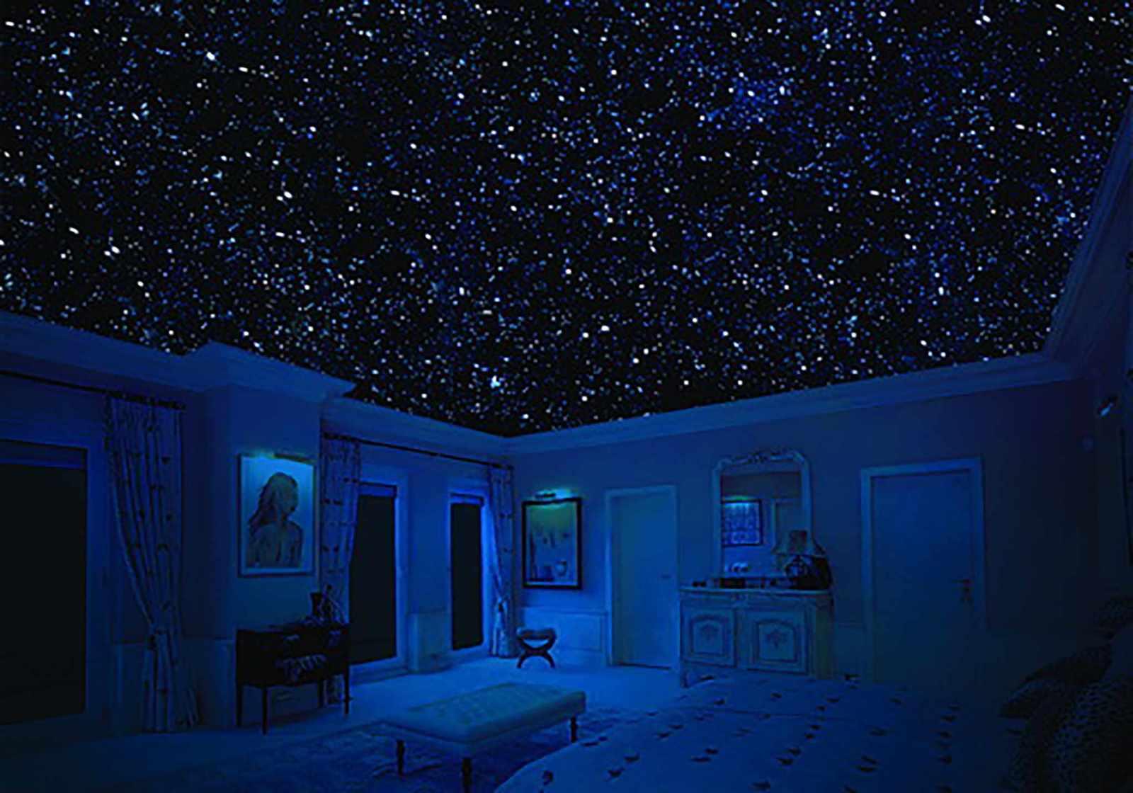 как сделать звездное небо на фото последний раз, все