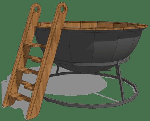Банный чан премиум качества