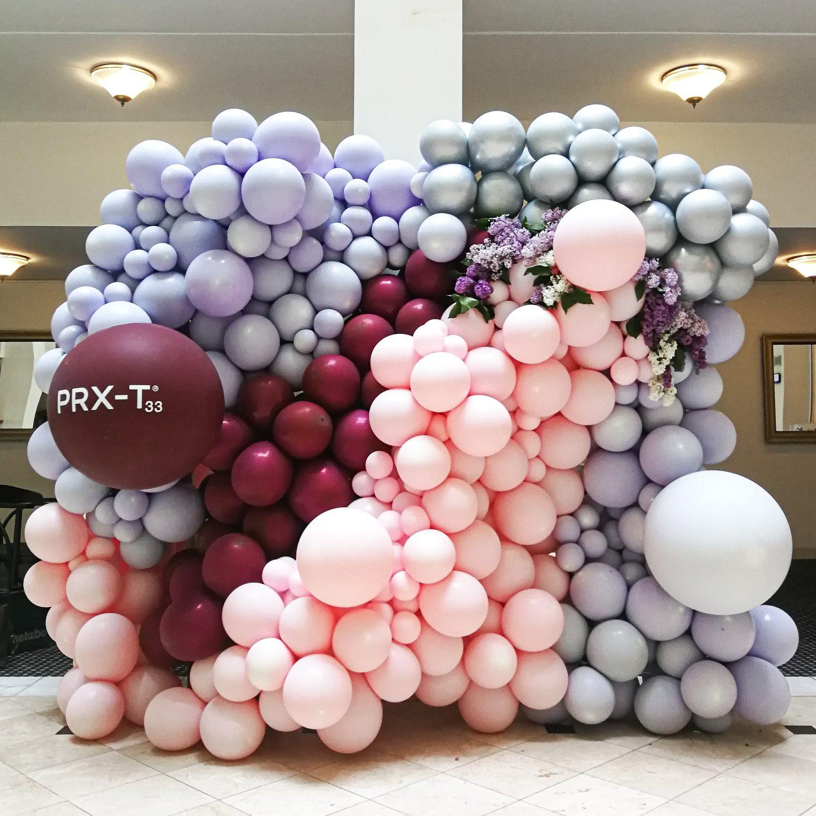 украшение фотозоны шарами