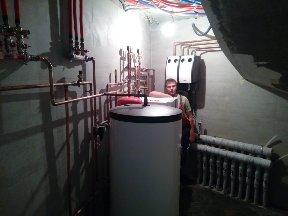 монтаж тепловых насосов