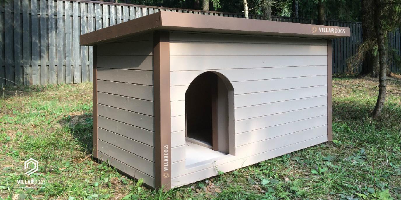 Будка для большой собаки | Фото | VillarDogs