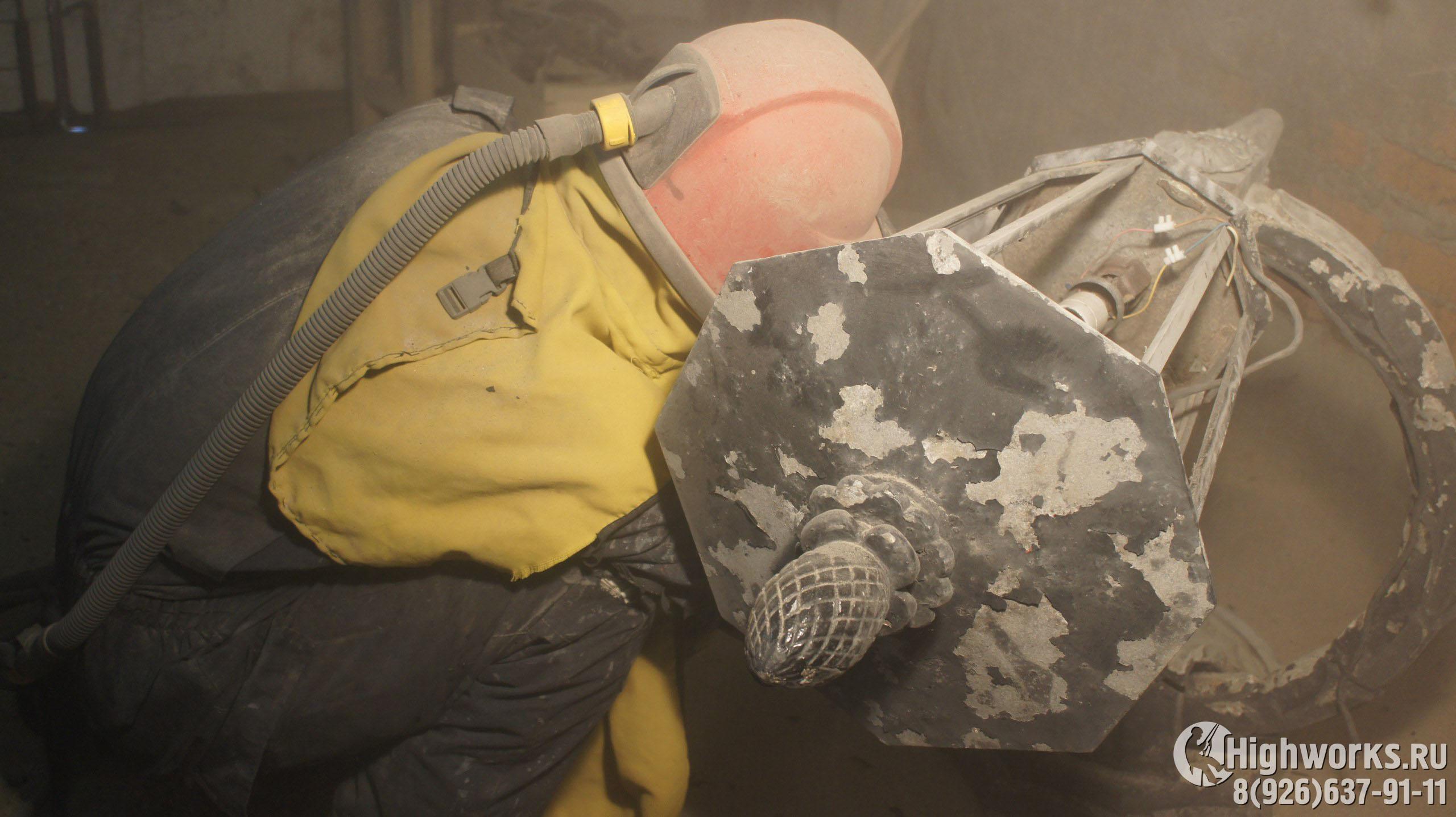 Реставрационные работы промышленными альпинистами