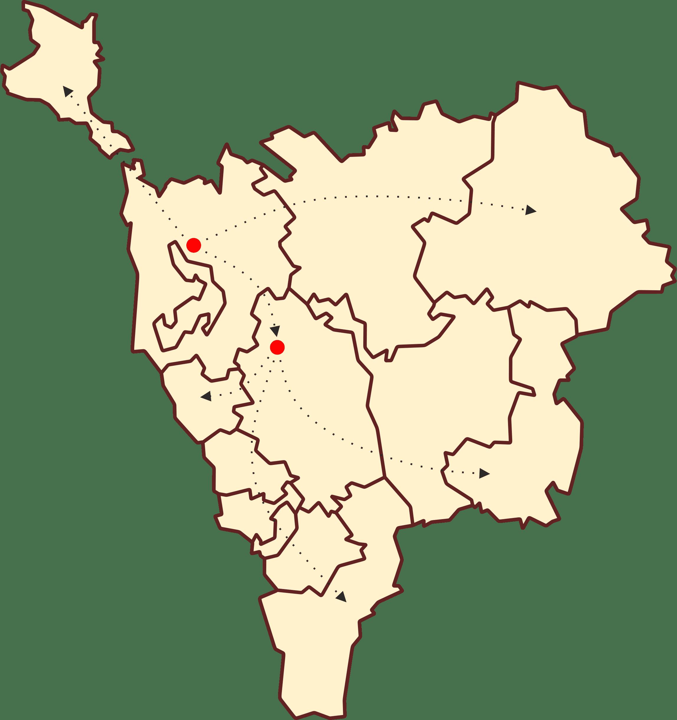 карта, зона обслуживания biovita