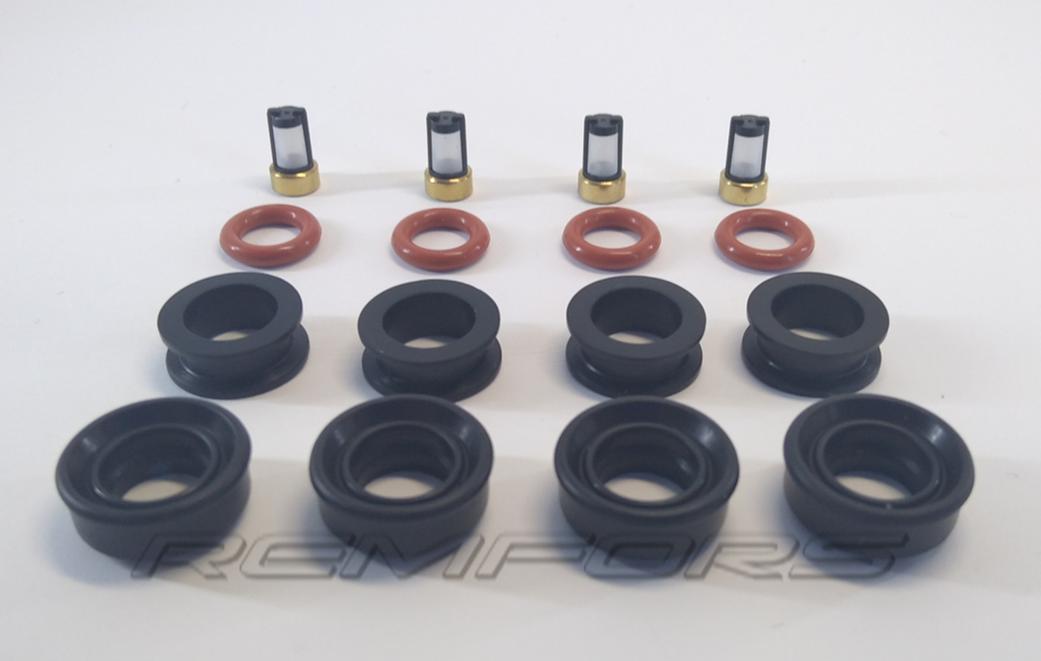 Уплотнительные кольца форсунки   2.0  2.5  Nissan  X-Trail 166009HP0A  FBY2855
