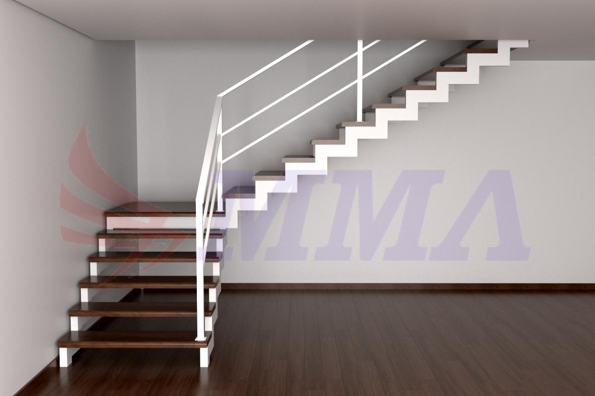 обшивка лестницы, металлокаркас, каркас, лестница,