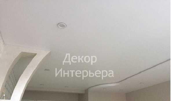 Картинка многоуровневый сатиновый натяжной потолок Воронеж от 199 руб/м2