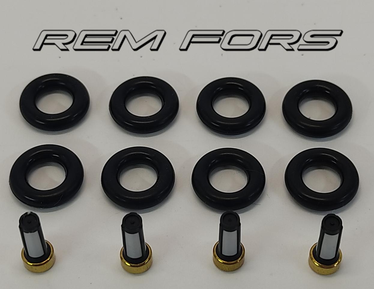 Ремкомплект форсунки 1.25 16V - 1.4 16V   FORD FIESTA   02-09   ОЕ:98MF9F593BB