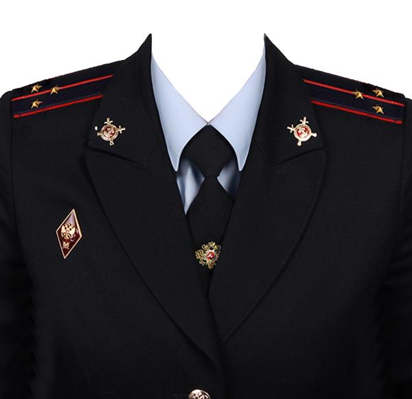 замена формы лейтенант