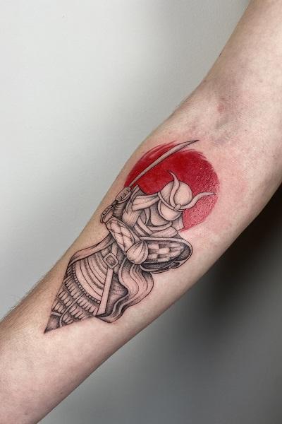 татуировка фотография эскиз мужские на ноге