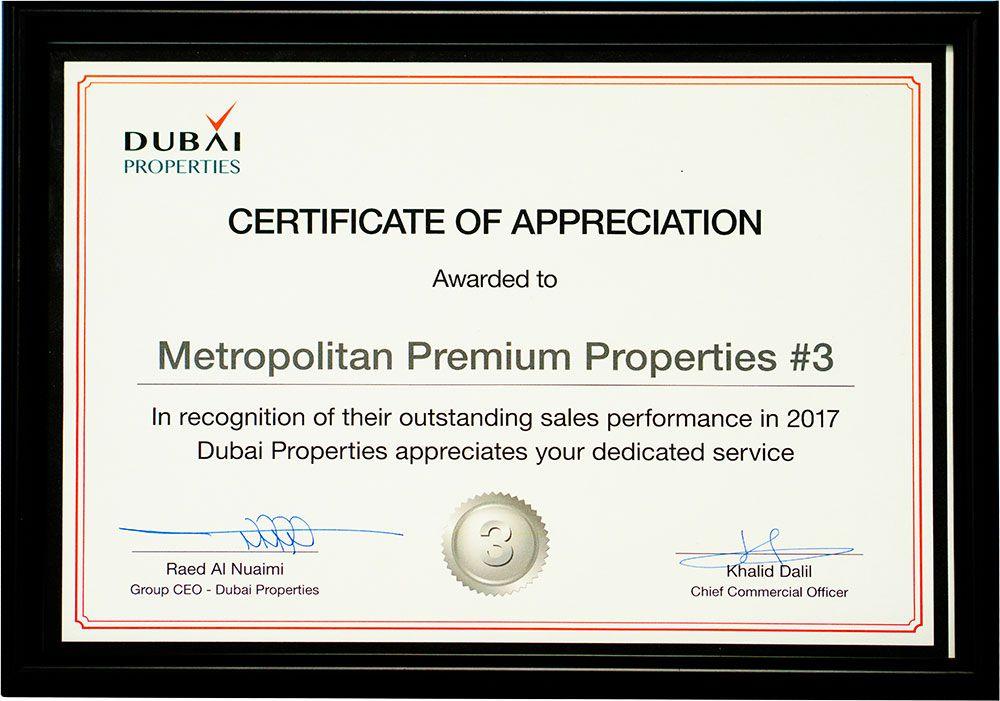 Metropolitan Premium Properties: Dubai Properties TOP Broker
