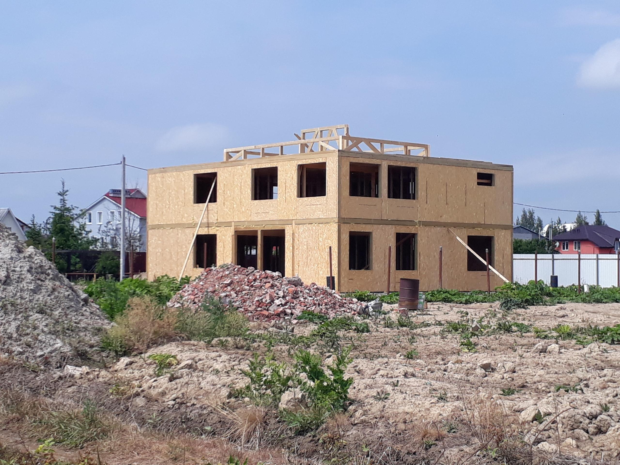 фото дома из сип панелей №7 коммунар
