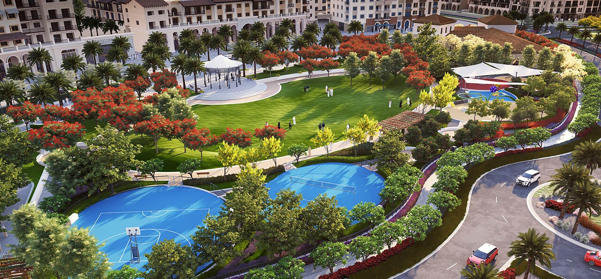 مدينة بدر من نخيل - شقق جاهزة للبيع بنظام اللتملك الحر في دبي