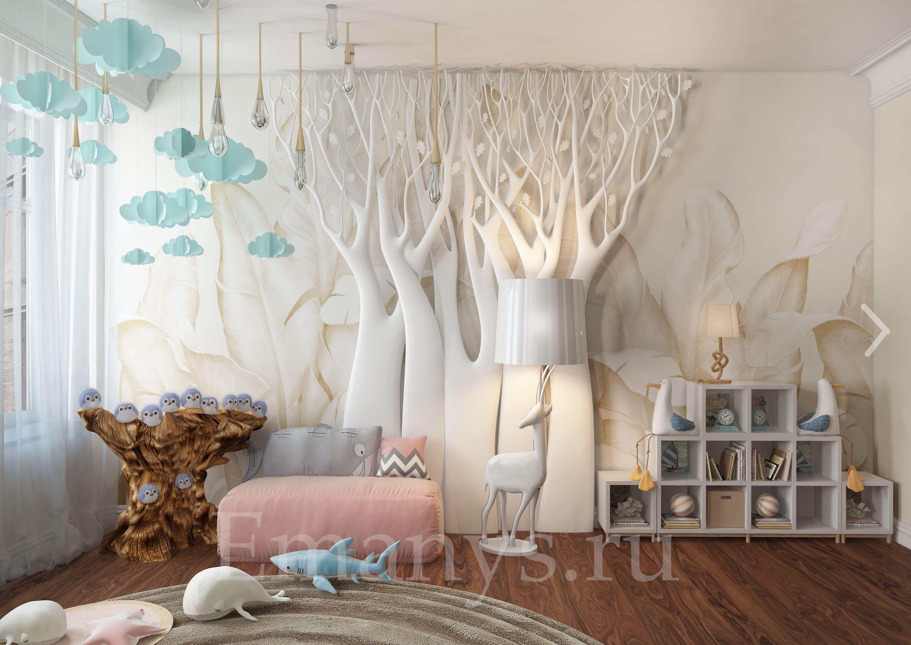 Дизайн интерьера ванной Emanys
