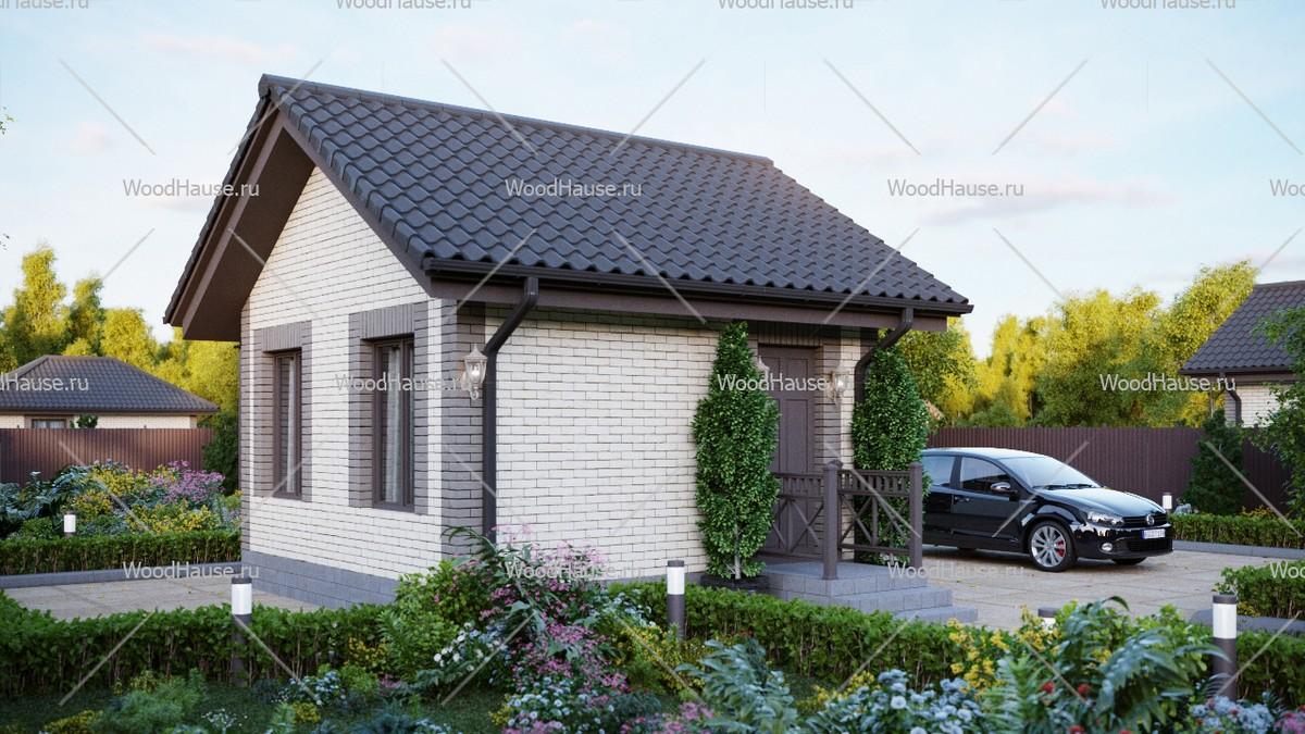 Двухэтажный дом из сип панелей