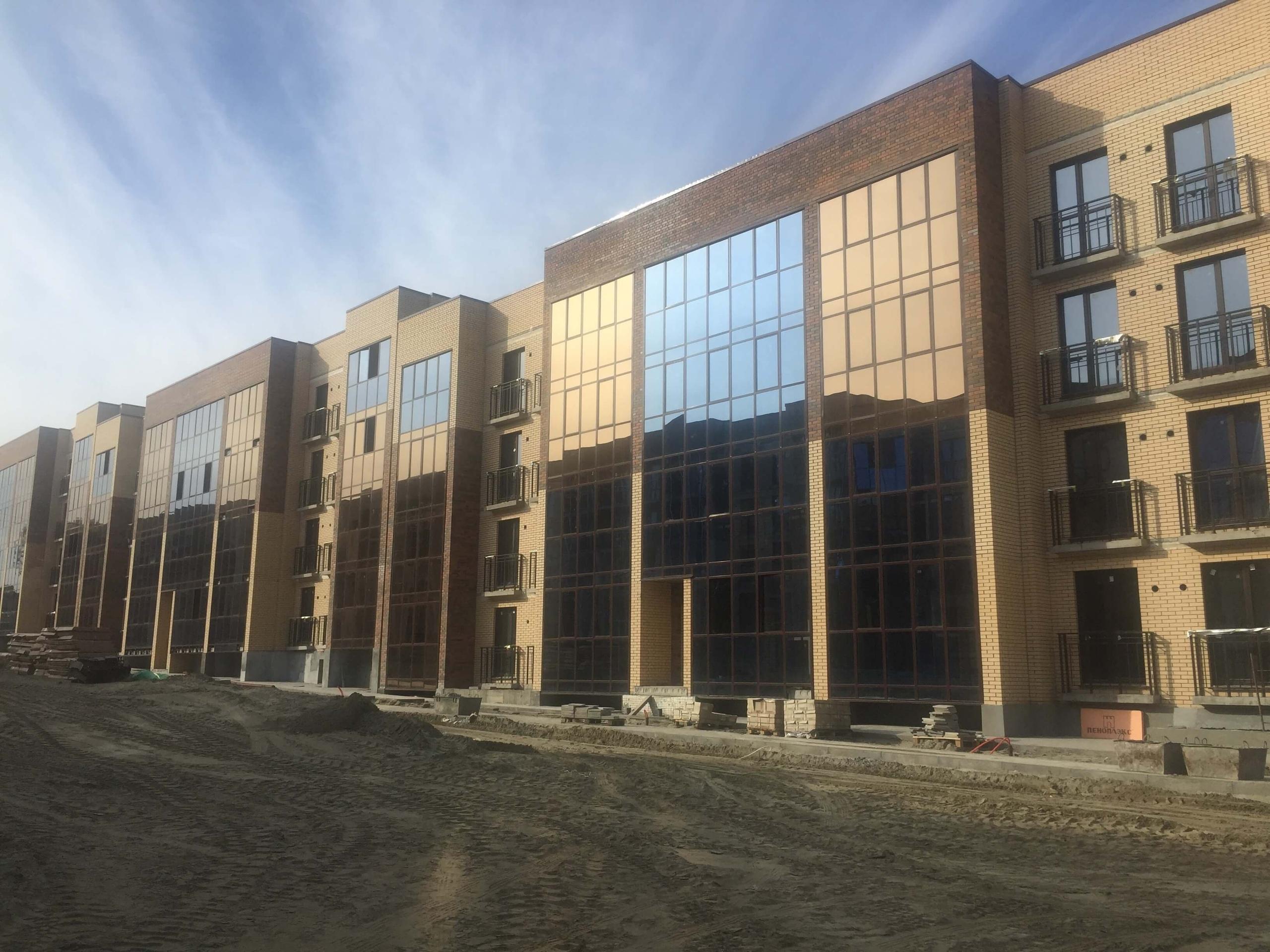 Ход строительства дом №3