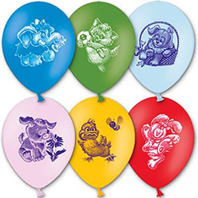 Гелиевые шарики Животные