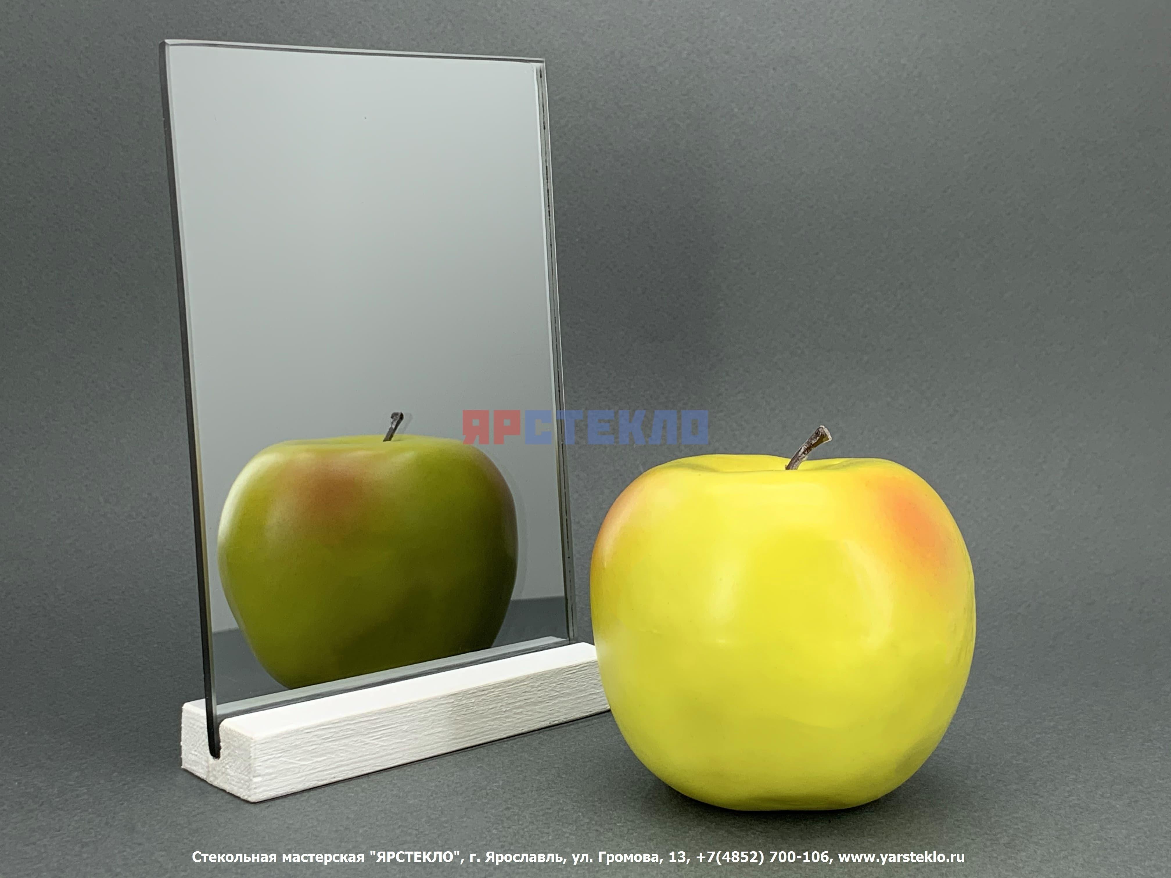 "Зеркало декоративное ""Графит"", глянец"