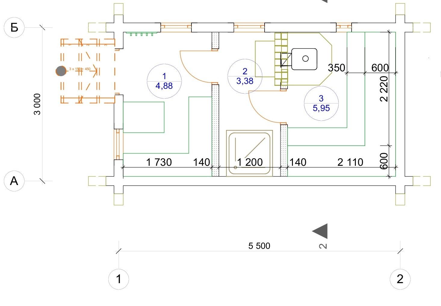 План первого этажа Baden-Baden (Баня Баден-Баден)