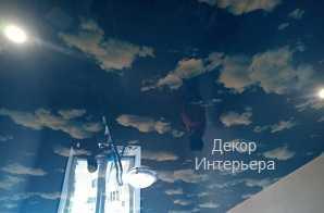 Картинка декоративные натяжные потолки Курск от 199 руб/м2